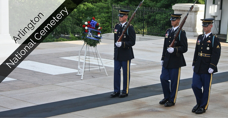 Arlington Cemetery Changing of the Guard